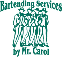 Bartending Services by Mr. Carol, Inc. Logo